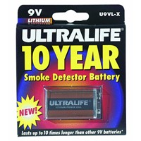 Ultra Life Batteries Lithium 9V Battery