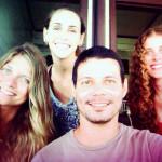 Equipe de trabalho Talyta, Natalia, Carlos e Luciana