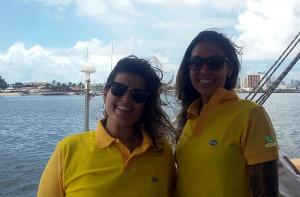 Mariana Burato e Lorena Galletti