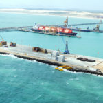 energia que vem do mar - Vista aerea do Porto do Pecém