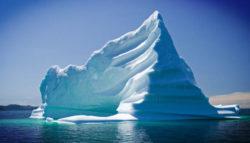 iceberg na superficie