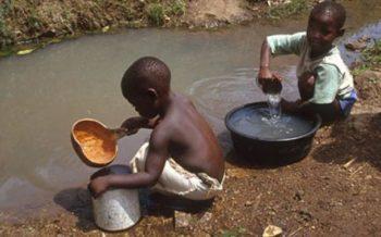 água suja