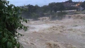Aumento do nível da água
