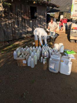 devolução de embalagem de agrotóxico