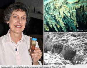 Dra. Henrietta Mann uma amostra de rusticle