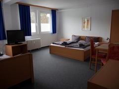 Monteurzimmer Unterkunft Seddin Zimmeransicht