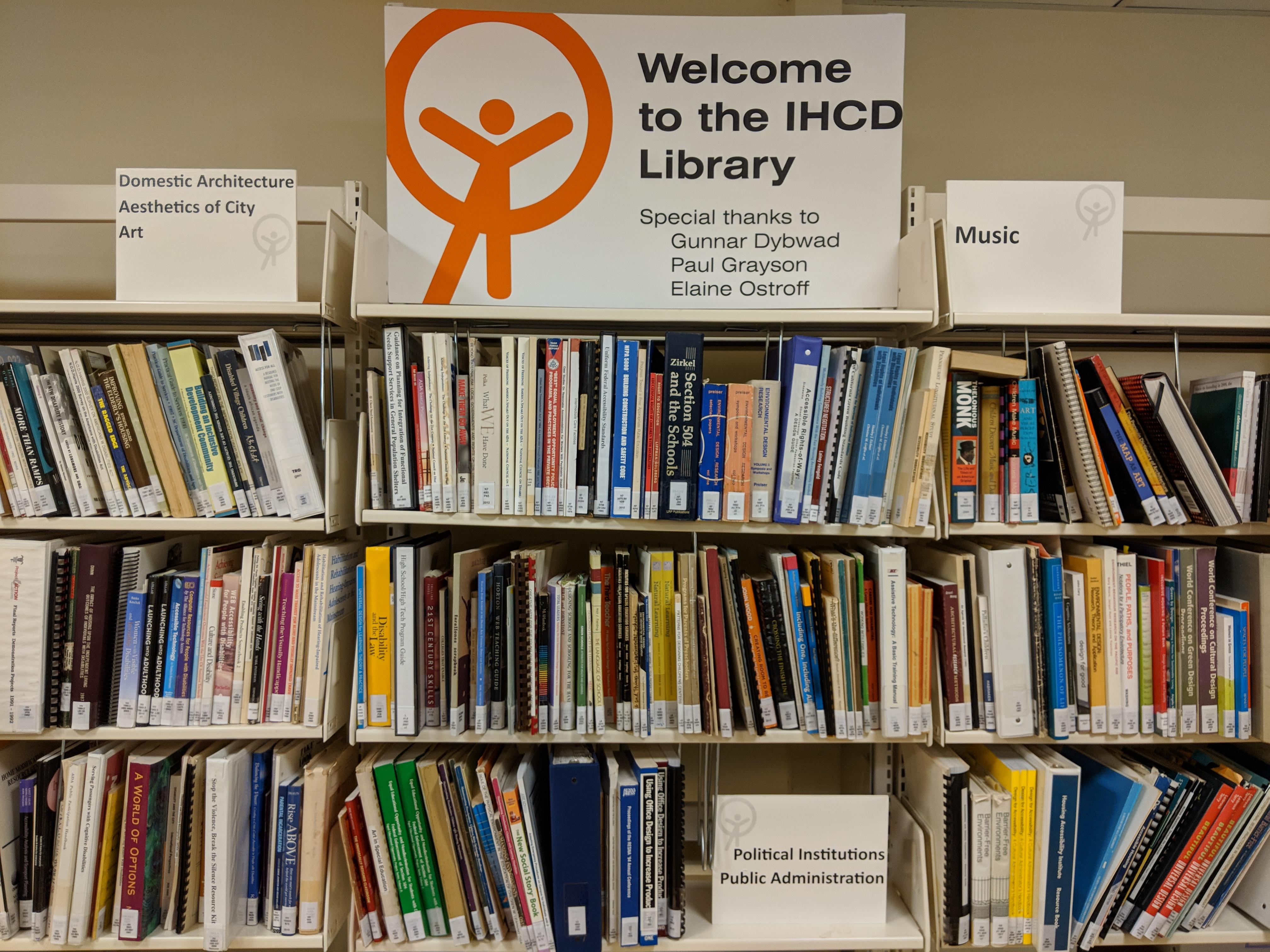 IHCD library
