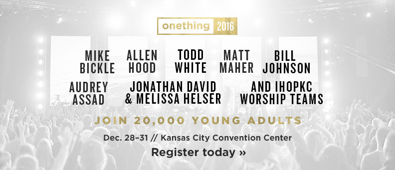 Onething Conference - Dec. 28–31 - Register Now