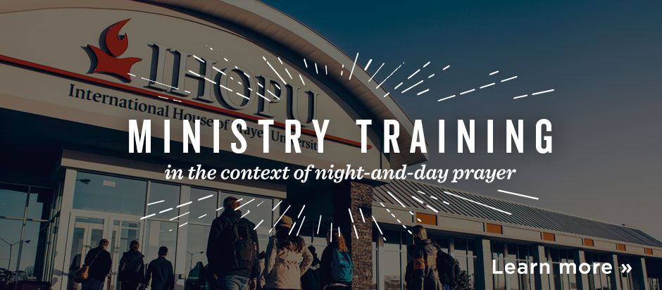 IHOPU - Ministry Training in the context of night-and-day prayer - Learn more