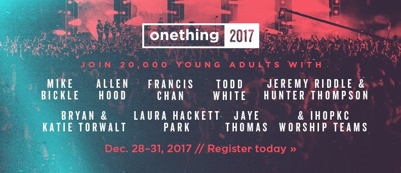 Onething 2017 - Dec. 28-31 - Register today