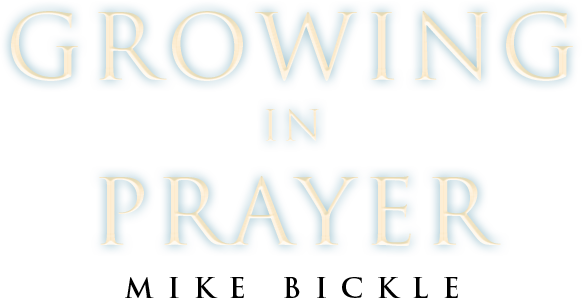 Growing in Prayer - Resources