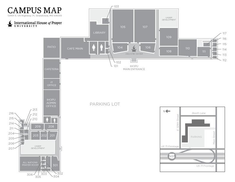 Campus Maps Ihopu Student Hub