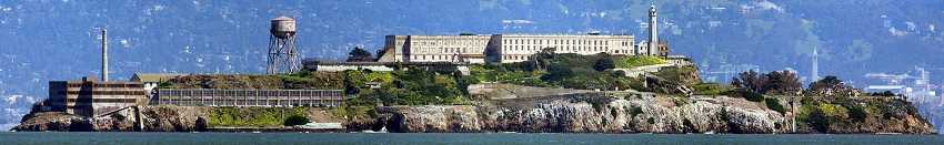 Alcatraz panoramic view