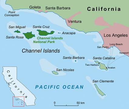 Channel Islands archipelago