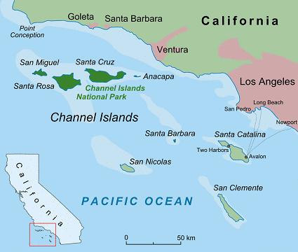 Channel Islands archipelago