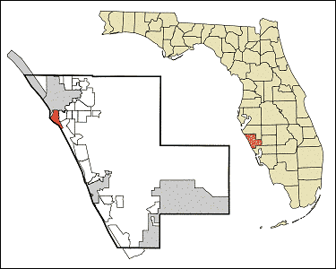 Location of Siesta Key