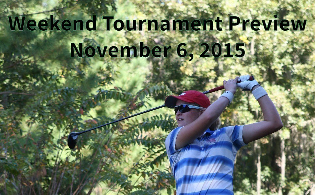 Weekend Tournament Preview – Nov. 6, 2015