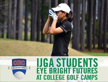 IJGA students participate in College Golf Camps event