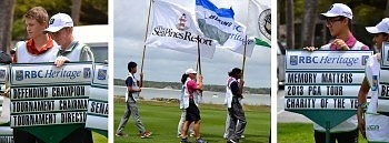 RBC Heritage kicked off with the help of IJGA students
