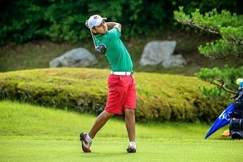 IJGA student Aaron Terrazas competing in Latin American Amateur Championship
