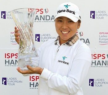 Kim, Meadow stand out during ISPS HANDA Ladies European Masters