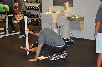 Physical competency testing held evenings at the Performance Center