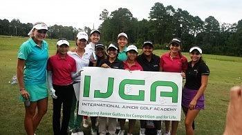 IJGA juniors join the LPGA's Lexi Thompson at the Red Bull Tee Time