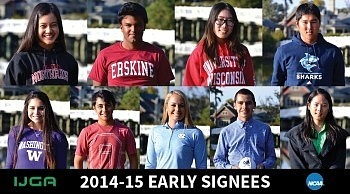 IJGA recognizes multiple juniors at an Early Signing Ceremony