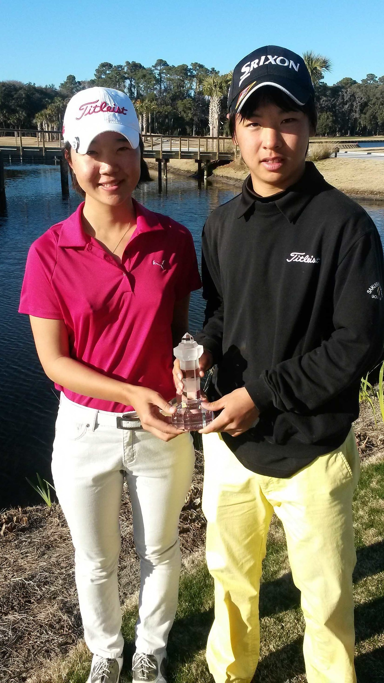 Nakatani & Go both placed third in their respective divisions