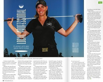 IJGA alumni featured in April's Hilton Head Monthly