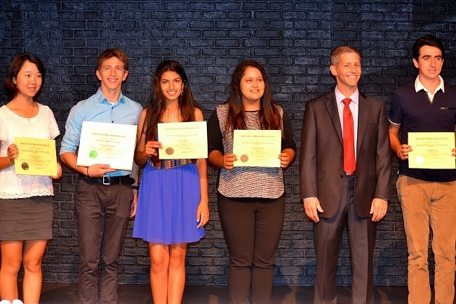 IJGA students honored by Mayor for community service