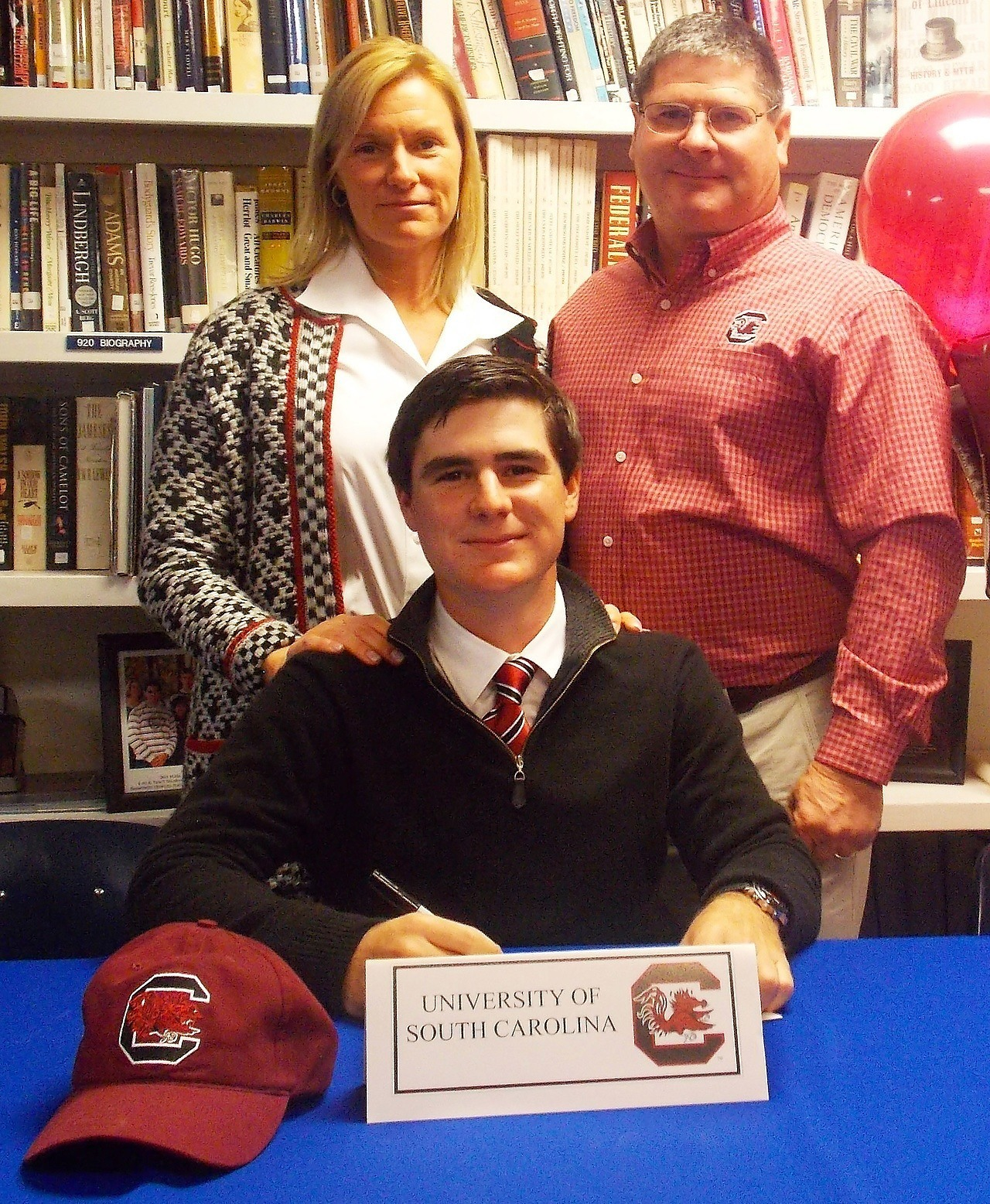 Ben Dietrich Early Signing ceremony