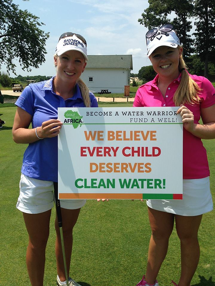 Stephanie Meadow Joins Golf Fore Africa