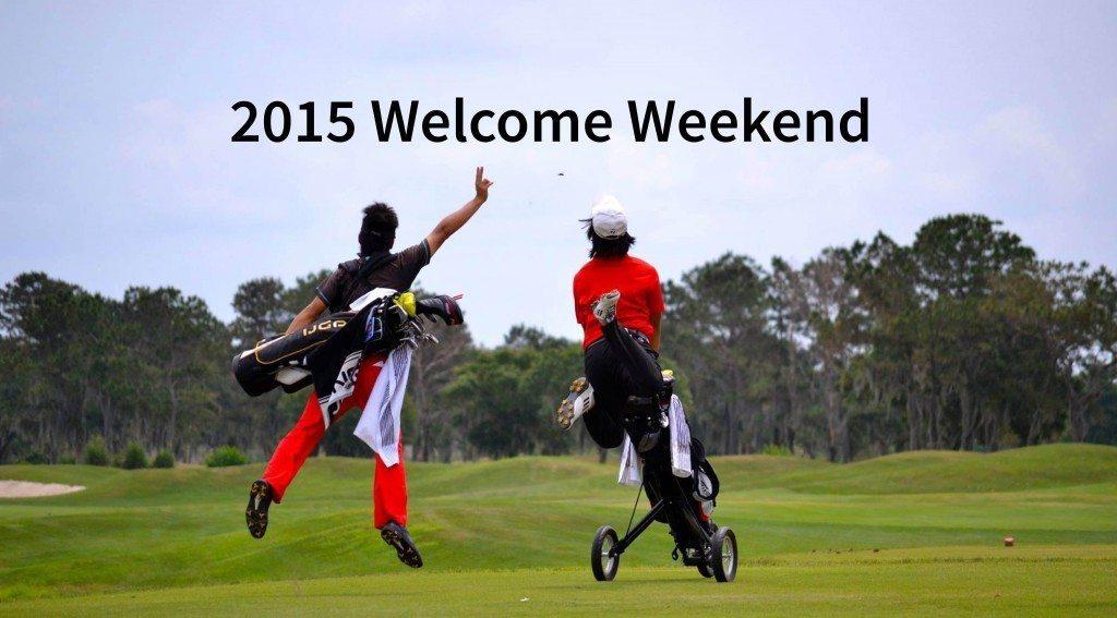 2015 IJGA Welcome Weekend