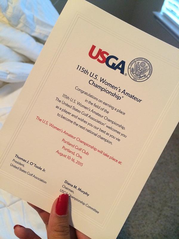 USGA invite