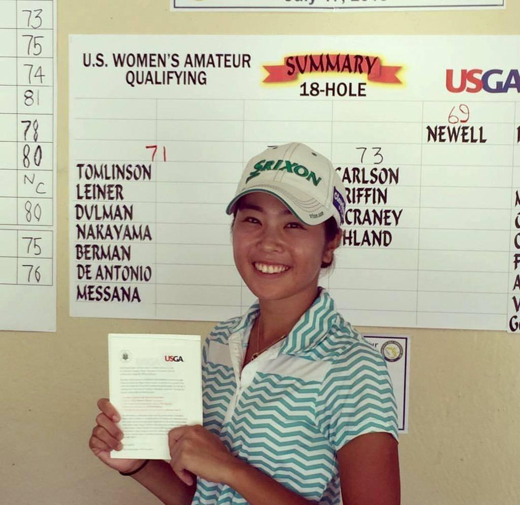 Ayaka U.S. Women's Amateur Qualifier