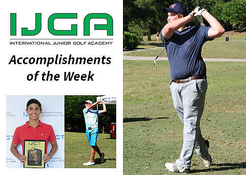 Accomplishments of the Week – Sept. 24, 2015