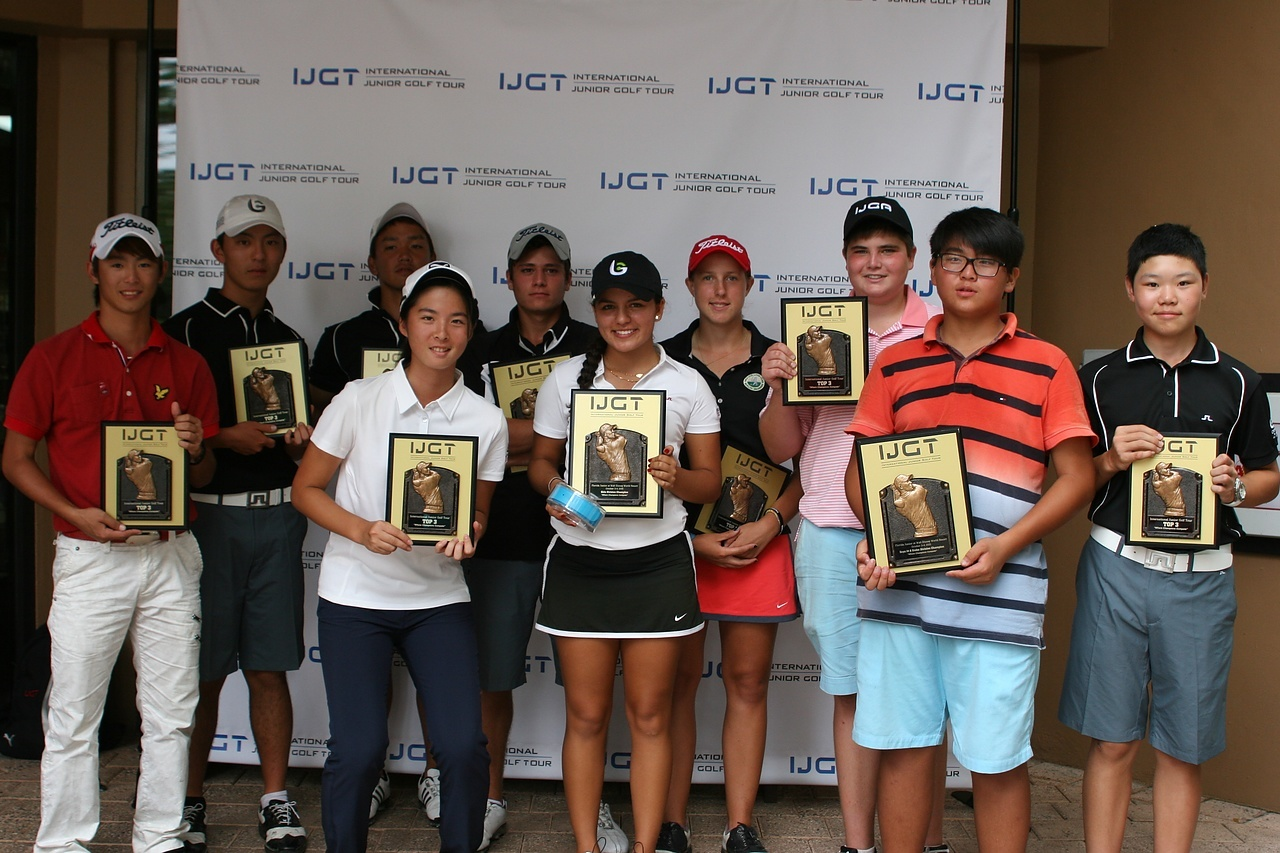Zou Wins IJGT Florida Junior–IJGA Weekend Recap