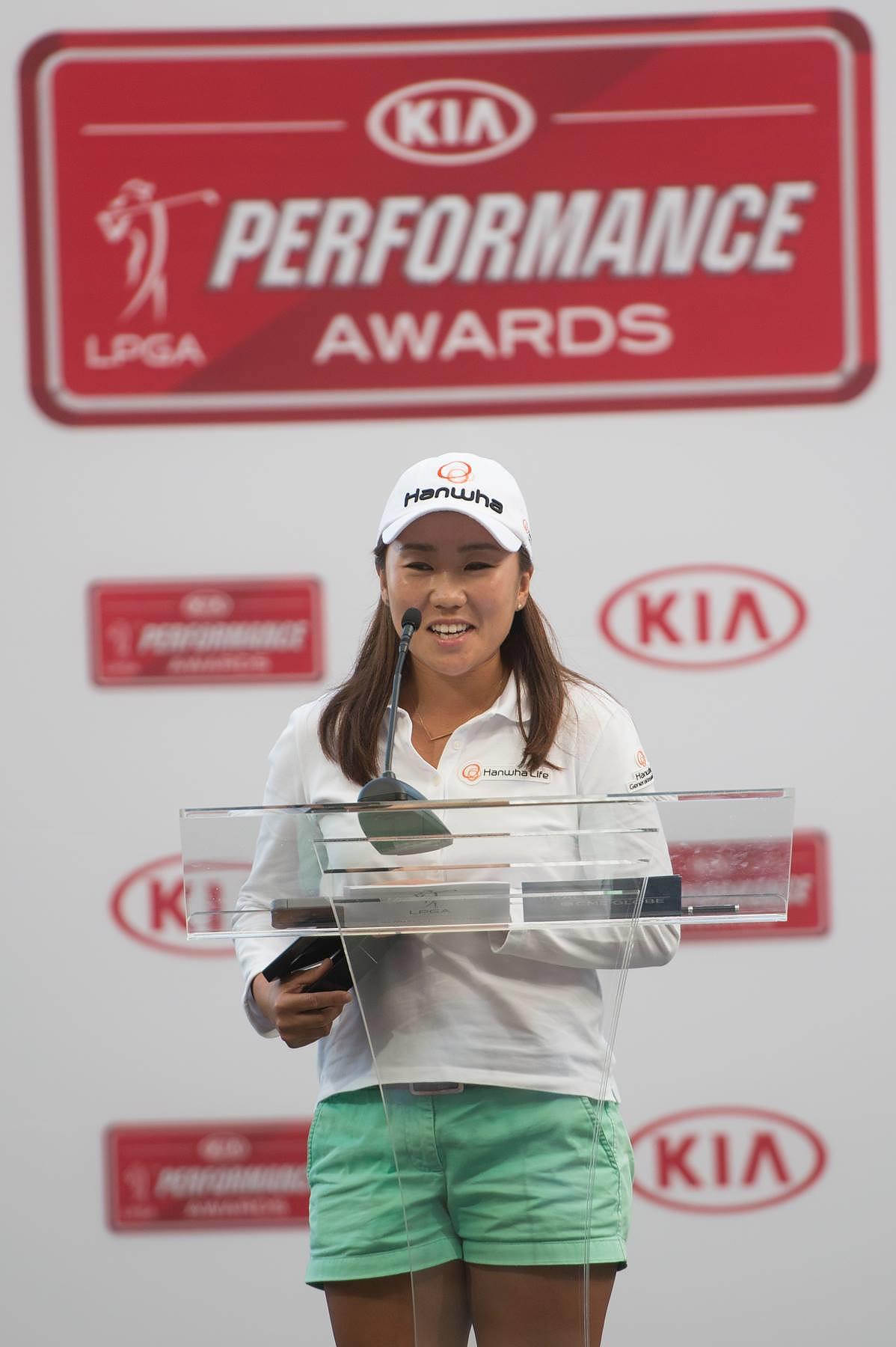 IJGA Alum I.K. Kim wins 2015 Kia Community Assist Award
