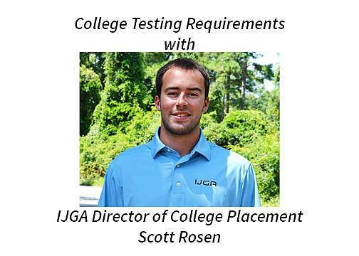 College Testing Requirements