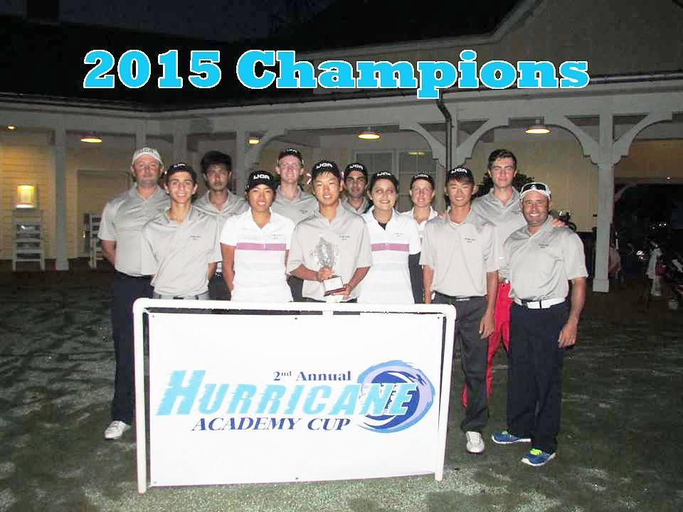 Team IJGA won the 2015 Academy Cup!