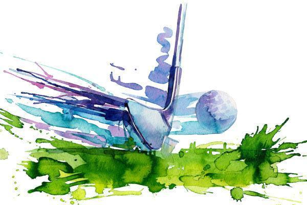 artistic golf image