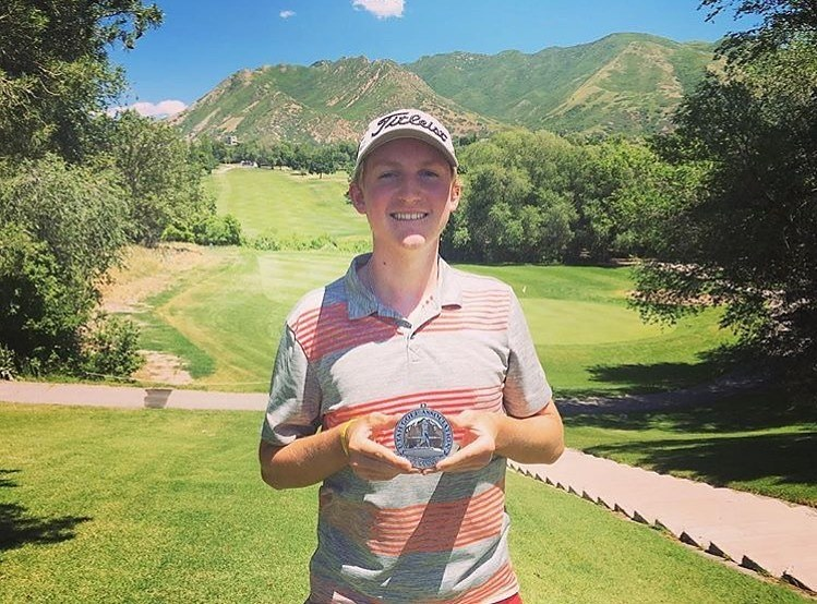 Colton Tanner Cards Three Eagles in Utah State Amateur Qualifier