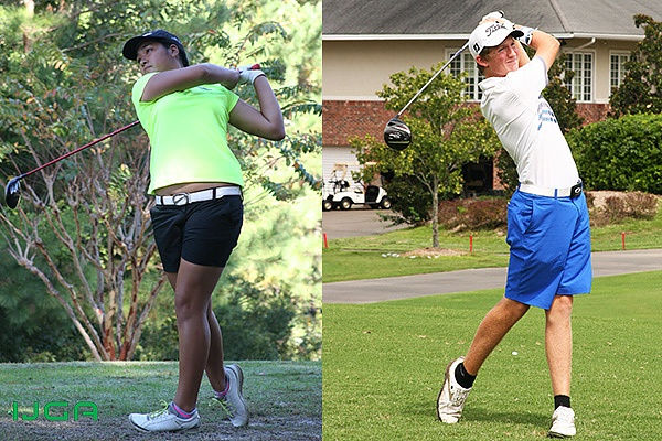 Jasmine Chee and Colton Tanner Rising Stars at IJGA