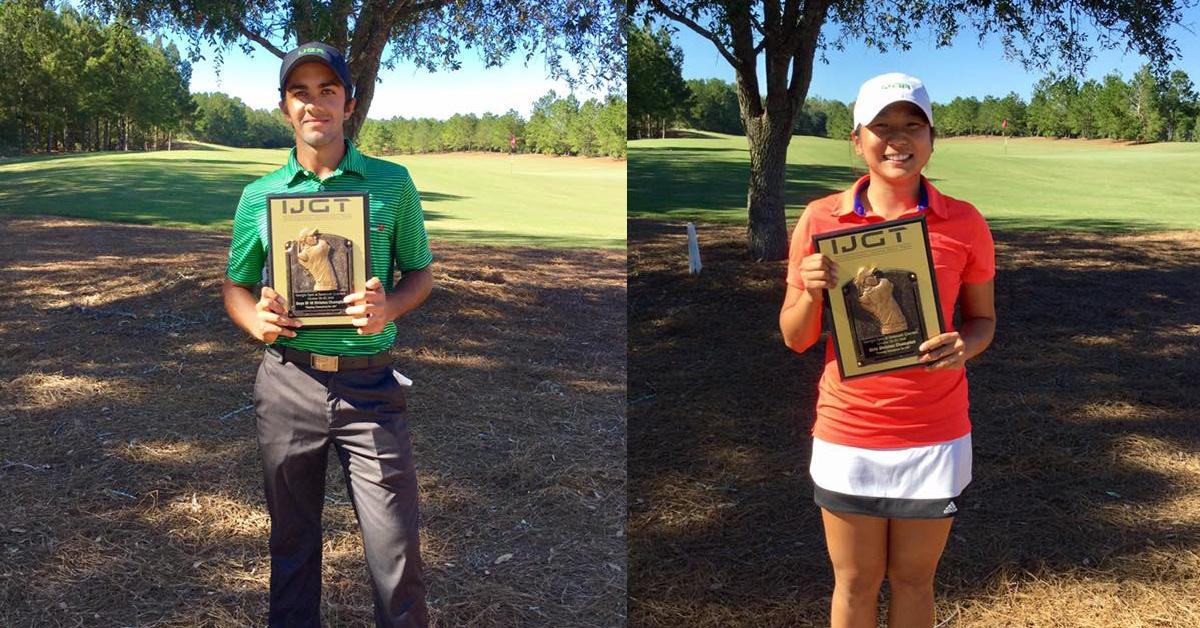 Two IJGA Students Celebrate Win in Savannah