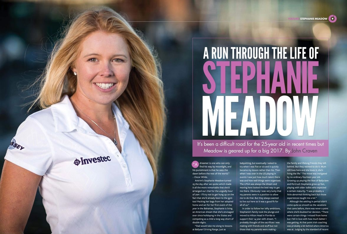 IJGA alum Stephanie Meadow featured in Irish Golfer Magazine