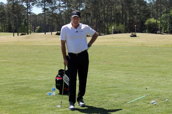 Sir Nick Faldo Hosts IJGA Clinic