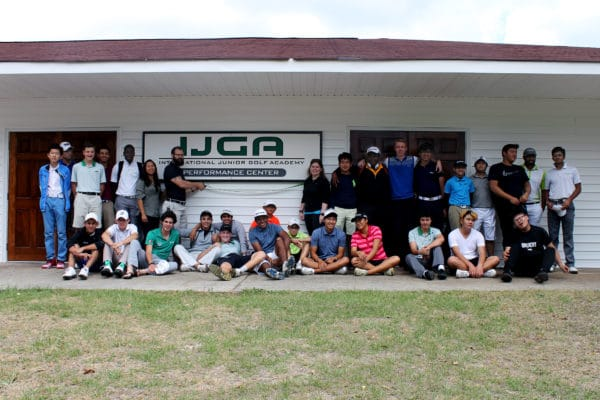 Ribbon cutting for the new IJGA Performance Center