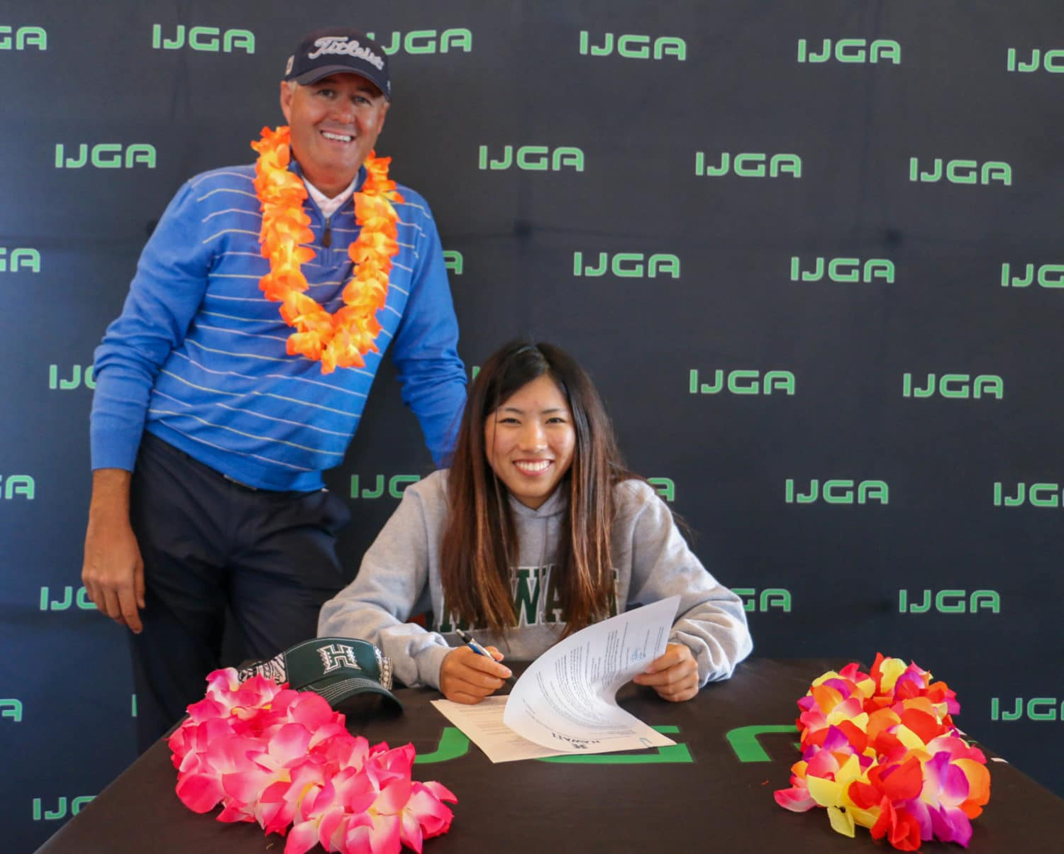 IJGA Senior Signs to Play Division 1 Golf at the University of Hawaii