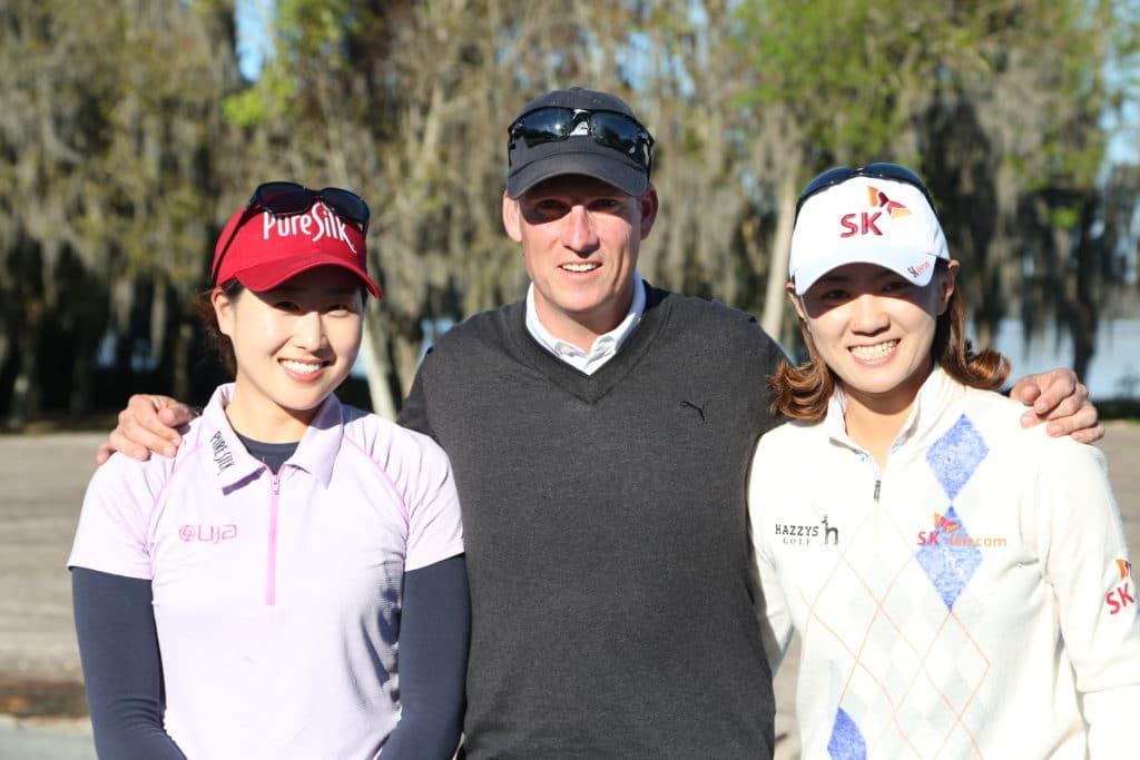 Jennifer Song and Na Yeon Choi golf academy training kevin smeltz